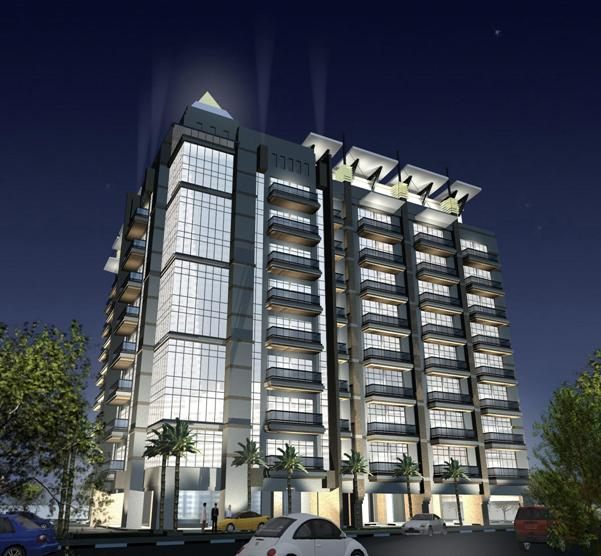 B+G+8+Roof Residential Building, On Plot No.20-008, At Nahd Al Shiba, Dubai