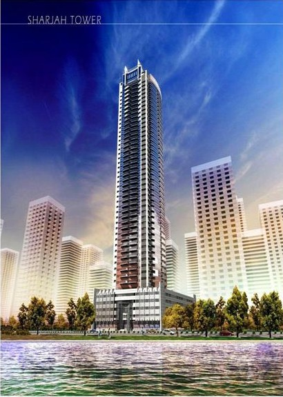 "G+4P+HC+42+R+HC Res. Building ""MAJESTIC TOWER"", On Plot No.1124, Al Khan, Sharjah"